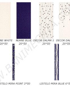 Плочки за баня серия NUANS BLUE