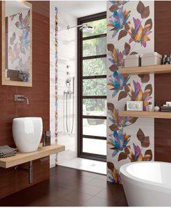Плочки за баня серия TURIN BURDEOS