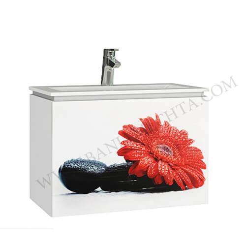 PVC шкаф за баня ПРИНТ