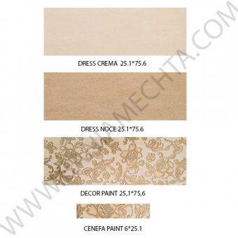 Луксозни плочки за баня серия DRESS APARICI (3)