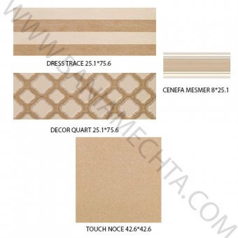 Луксозни плочки за баня серия DRESS APARICI (4)