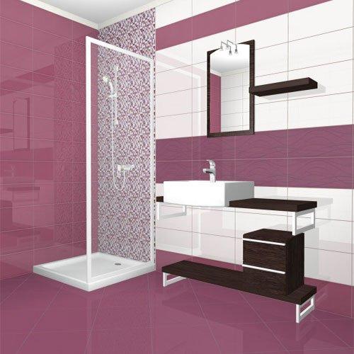 Плочки за баня серия COLORGLOSS MALVA 2050