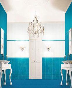 Плочки за баня серия UNIQUE BLUE