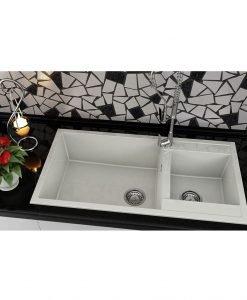 Кухненска мивка с две корита FAT AVANGARD 235