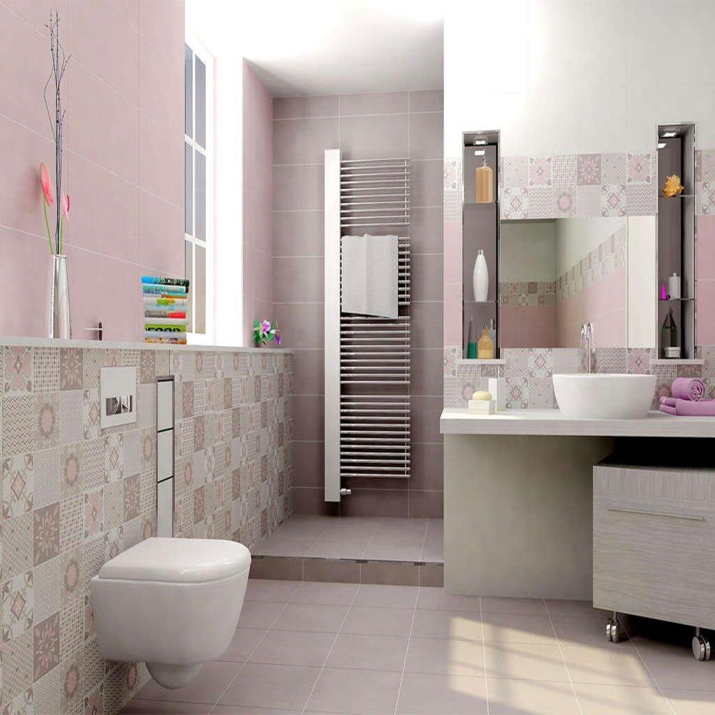 Плочки за баня в розово HABITAT ROSA