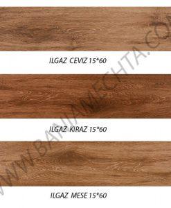Гранитогрес имитация на дърво серия ILGAZ