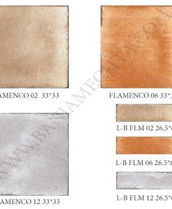 Гранитогрес матиран серия FLAMENCO