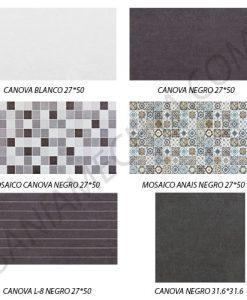 Плочки за баня CANOVA NEGRO