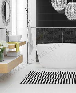 Плочки за баня WHITE AND BLACK