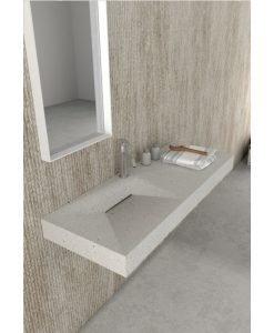 Каменен умивалник за стенен монтаж ICC 12047