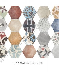 Гранитогрес матиран HEXA MARRAKECH