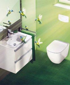 Структура за вграждане и окачена тоалетна TESI SOFT CLOSE IDEAL STANDARD