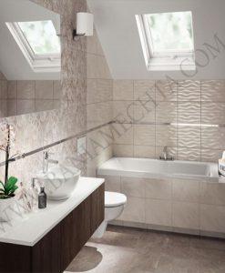 Плочки за баня серия TUBADZIN OXIDE 25*36