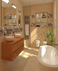 Плочки за баня ADUA CREAM