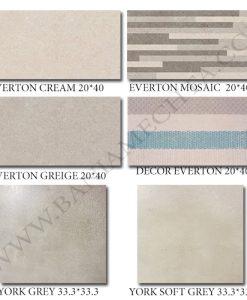 Плочки за баня EVERTON GREIGE