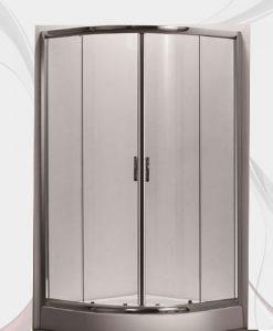 Промоция овална душ кабина с корито MOVI 90