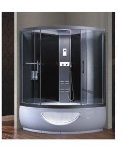 Хидромасажна душ кабина с парогенератор СИЯНА 9823