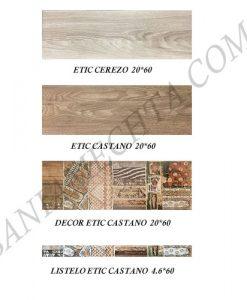 Плочки за баня серия ETIC CASTANO
