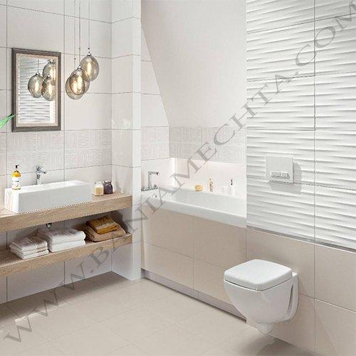 Плочки за баня BURANO WHITE (6)