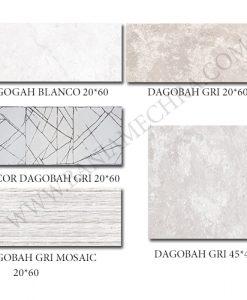 Плочки за баня DAGOBAH GRI