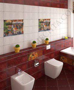 Плочки за баня MENORCA BURDEOS