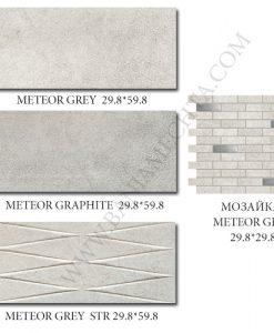 Плочки за баня METEOR GREY