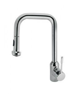Смесител за кухня с изтеглящ се ръчен душ с две функции RETTA B8989AA
