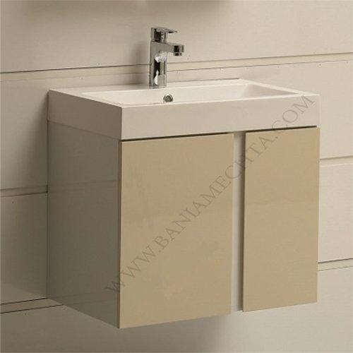 PVC шкаф за баня ICP 6087 BEIGE