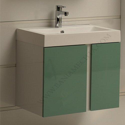 PVC шкаф за баня ICP 6087 GREEN