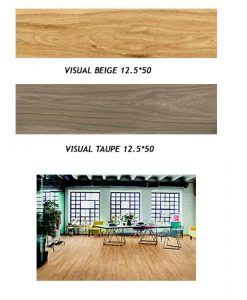 Гранитогрес имитация на дърво серия VISUAL MARAZZI