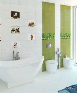 Детска баня EMMA BLUE AND GREEN