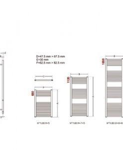 Лира за баня OPERA ERCOS ASOPC F9300 4501650