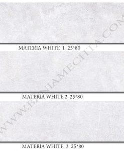 Плочки за баня MATERIA WHITE