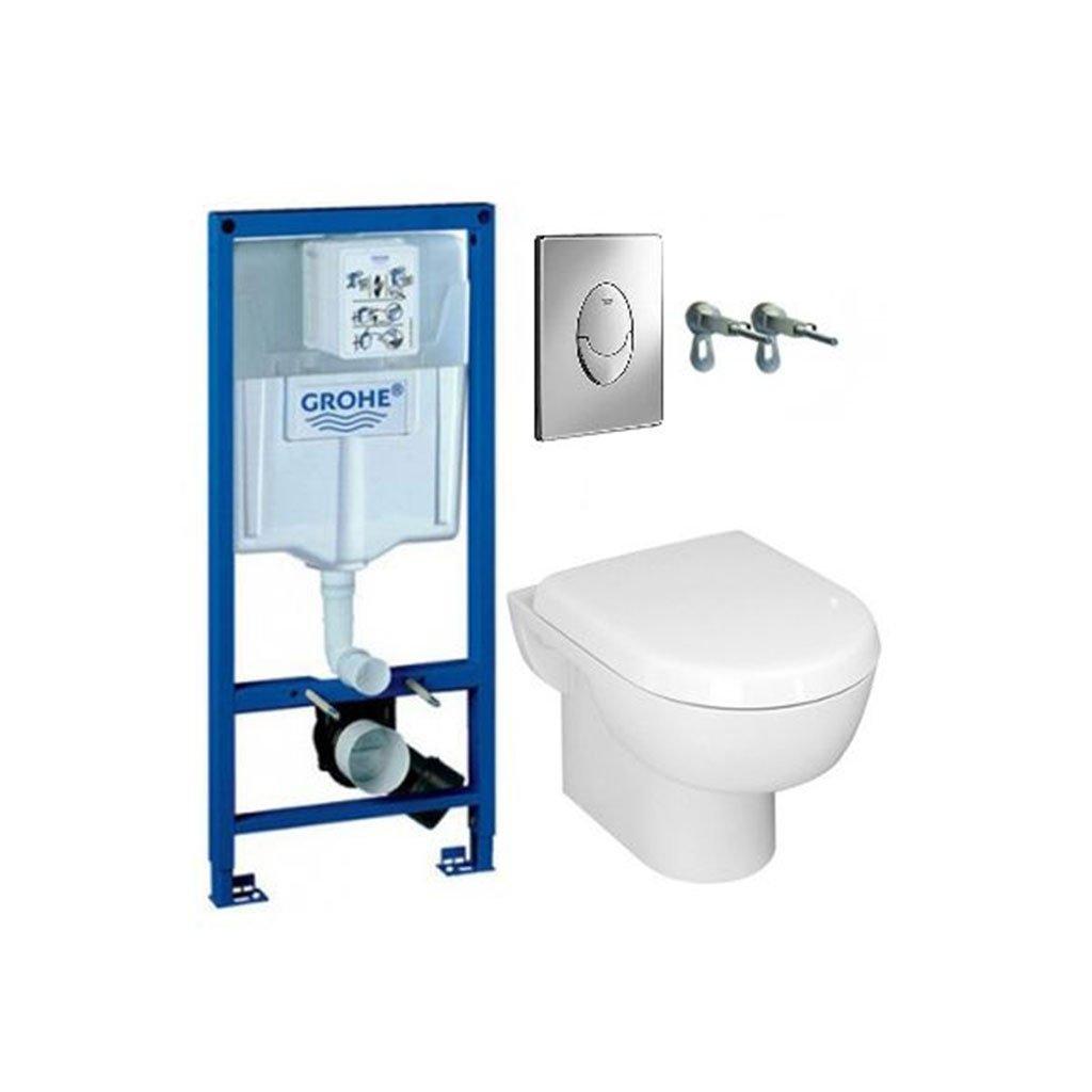 Промо комплект структура и окачена тоалетна GROHE SOLIDO 39191000