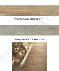 Гранитогрес имитация на дърво TRAVERK PLANET