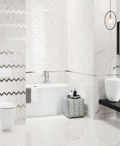 Плочки за баня имитация на мрамор серия VIENNA