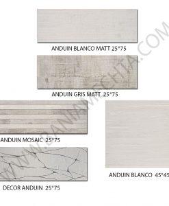Плочки за баня модел ANDUIN