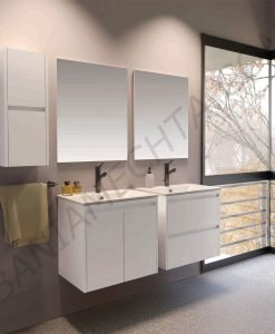 PVC шкаф за баня BERANJENA 65см. с чекмеджета