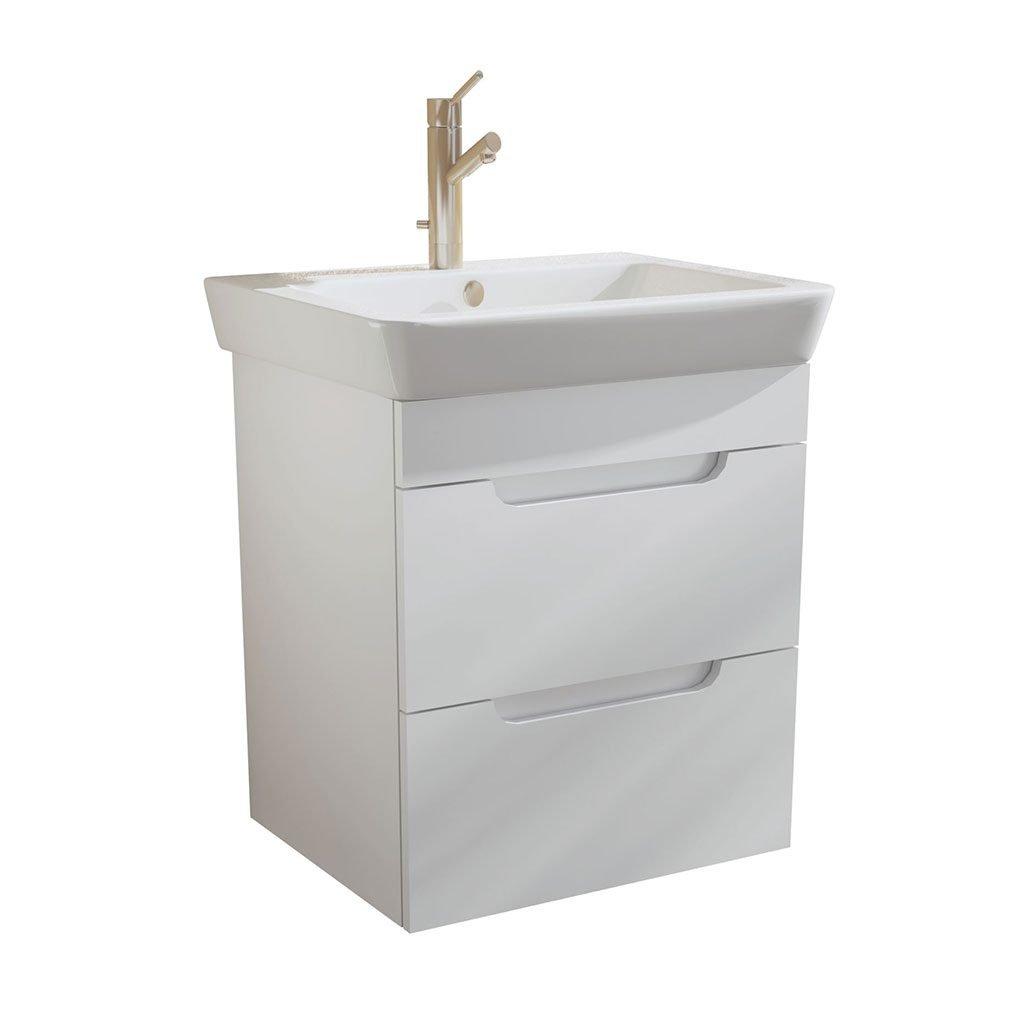 PVC шкаф за баня CASERTA 50см. с чекмеджета
