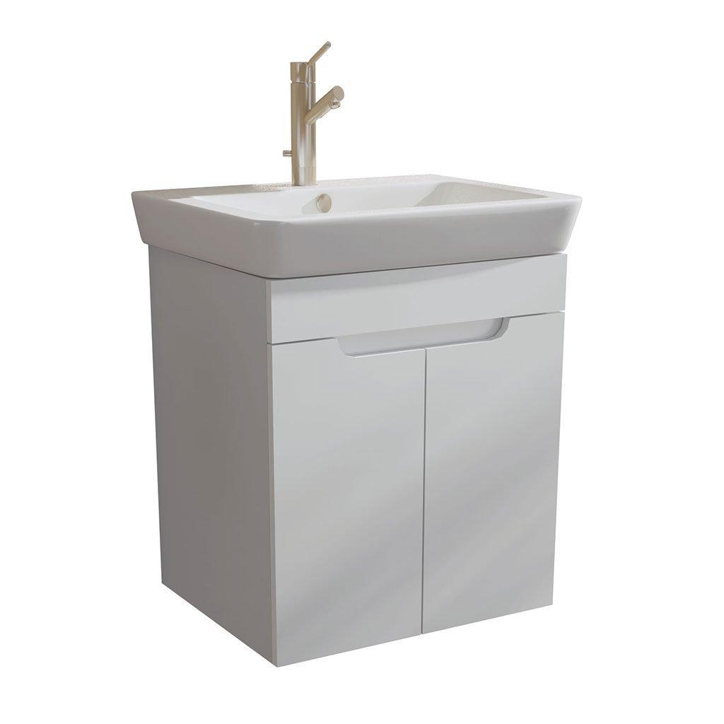PVC шкаф за баня CASERTA 55см. с вратички