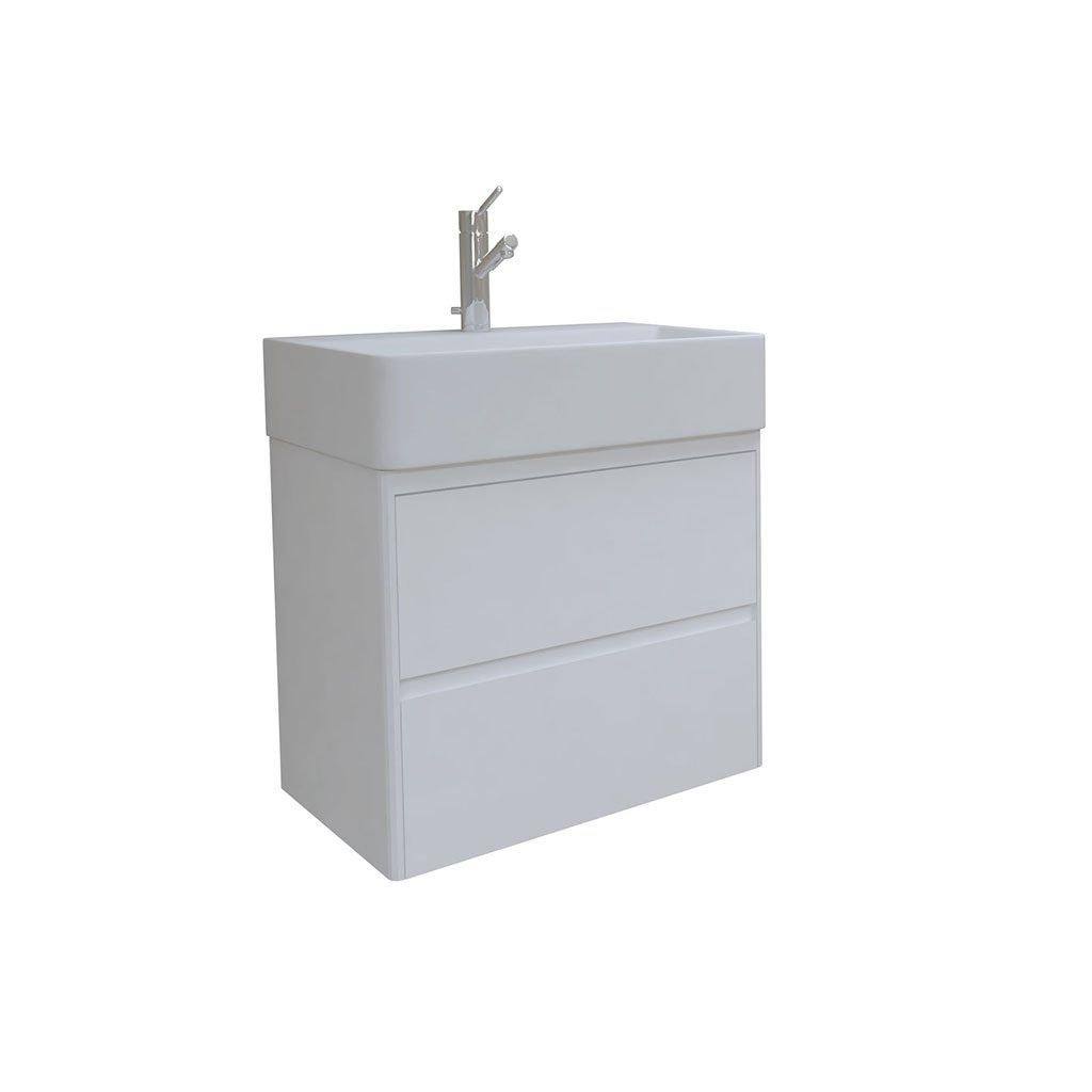 PVC шкаф за баня IBERIS 60см. с чекмеджета