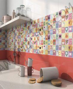 Цветна серия плочки за баня FRESH
