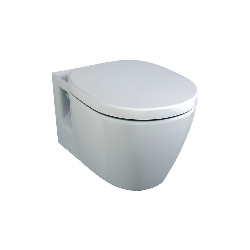Конзолна тоалетна чиния E716601 CONNECT със забавен капак