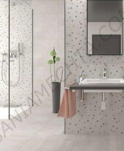 Матирани плочки за баня серия CEMENT