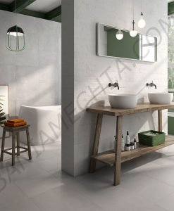 Плочки за баня в сиво серия ADINE