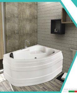 Асиметрична акрилна вана модел Наксос 150*100