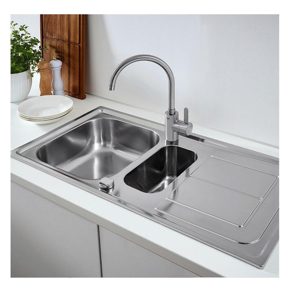 Двойна кухненска мивка K300 31564SD0 GROHE