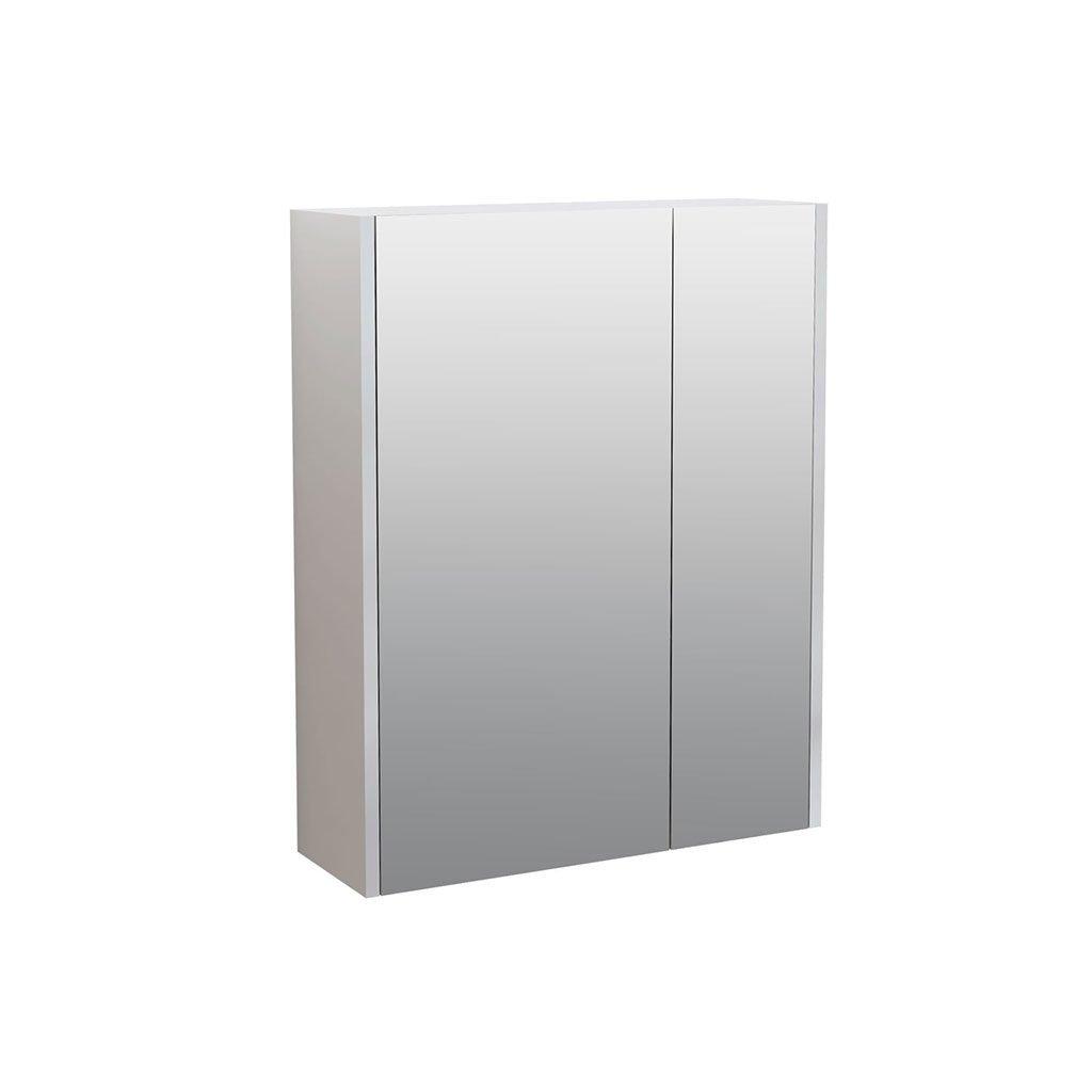 Огледален PVC шкаф за баня модел CASERTA 55см