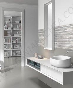 Плочки за баня серия TRESOR GRAFITO
