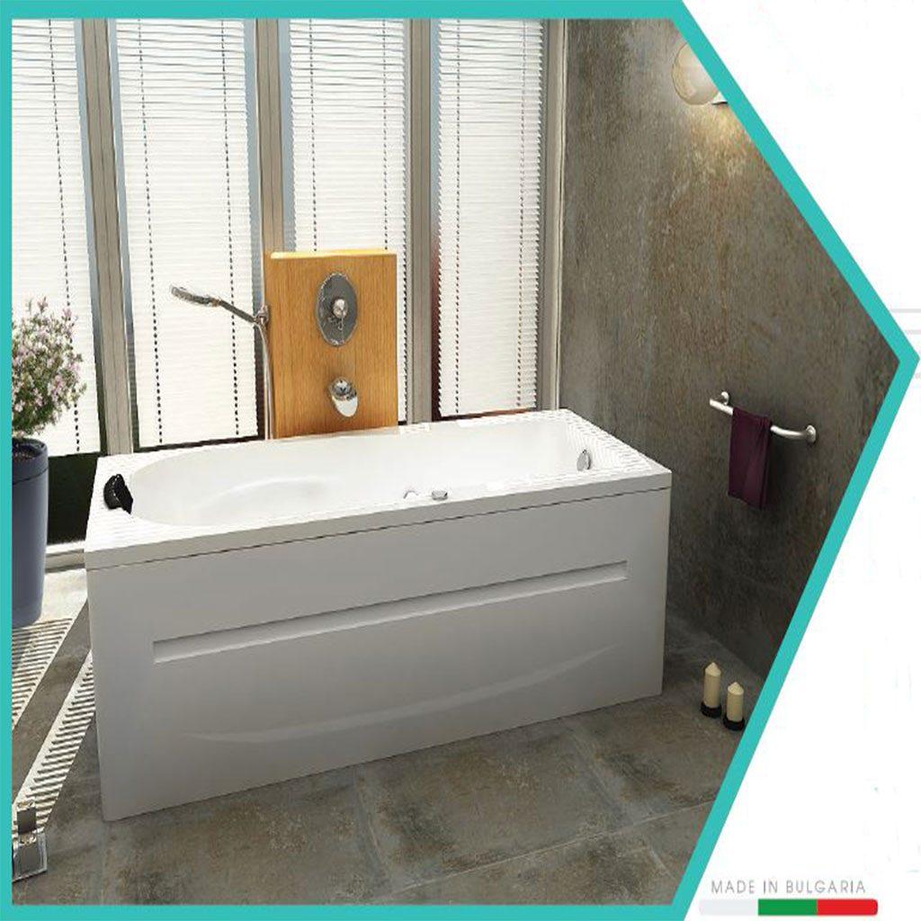 Правоъгълна акрилна вана модел Мадрид